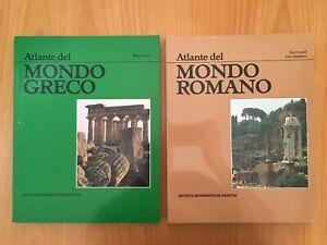 Atlante del mondo greco/Atlante del mondo romano - De Agostini 1984
