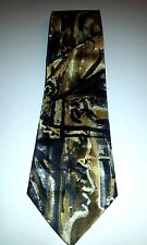 Cocktail Colors Mens Collection 100% Silk Handmade Neck Tie Bold Abstract Colors