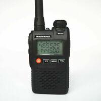 UK Mini Baofeng UV3R 3.3 watt Dual band 2-WAY RADIO UHF/VHF FREE SOFT CASE