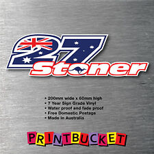 Stoner 27 sticker quality 7 year vinyl water/fade proof decal casey