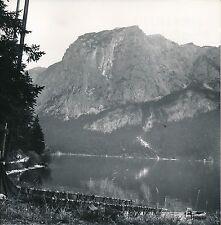 AUTRICHE c. 1955 - Panorama Lac Altaussee Filet de Pêche - Div 10459