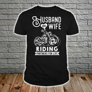 Husband And Wife Riding Partners For Life Men's US T-Shirt