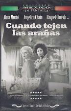 DVD - Cuando Tejen Las Aranas NEW Coleccion Mexico En Pantalla FAST SHIPPING !