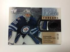 2015-16 upper deck ice hockey C.Hellebuyck fresh threads 08/10