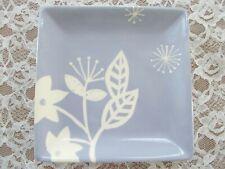 """Hallmark Decorative Floral Plate - Lavender & White- 7 1/8"""" square"""