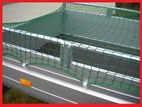 Anhängernetz mit Expanderseil 3,5 x 2,5 m knotenlos 350x250cm Ladungssicherung