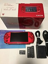 SONY PSP Playstation Portable Radiant Red PSP-3000RR Excellent Japan Game