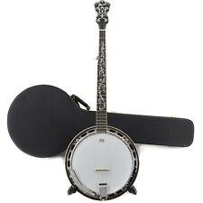 Ibanez B300 5-String Banjo w/ Rosewood Resonator & Case - Natural