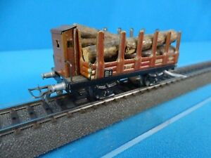 Marklin 372 GK Spiked car with logs vers. 4 1939