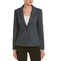 Tahari Asl Womens One-Button Notch-Collar Blazer - Suit Jacket, Size 10 NwT $150