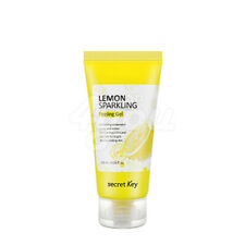 Secret Key Lemon Sparkling Peeling Gel 120ml +Free Sample