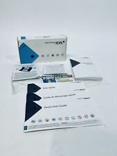 Box Only Nintendo DS I BLUE - No Console - BOX Manual and Inserts