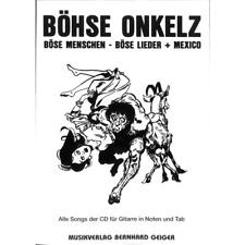 Böhse Onkelz gente mala mala canciones México cancionero