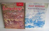 2 Vintage Civil War Times ILLUSTRATED 1963 Gettysburg & 1973 FIRST MANASSAS