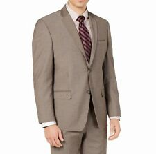 Marc New York Mens Suit Seperates Brown Size 48 Blazer Two Button $197- 027