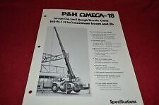 P&H Harnischfeger Omega 18 Rough Terrain Crane Dealer's Brochure DCPA4 ver2