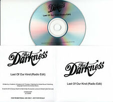 THE DARKNESS Last Of Our Kind 2015 UK 1-track promo CD