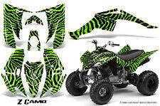YAMAHA RAPTOR 350 GRAPHICS KIT CREATORX DECALS STICKERS Z CAMO GL