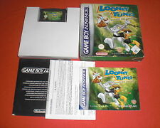 GBA Looney Tunes Back in Action [Complet] Nintendo Gameboy Advance *JRF