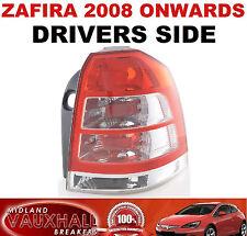 VAUXHALL ZAFIRA B 08> BACK REAR LIGHT LENS DRIVERS OFF SIDE SRI CDTI ECOFLEX