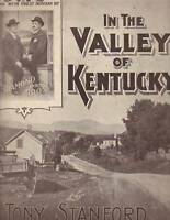1901 In the Valley of Kentucky by Tony Stanford showing Diamond and Hoon