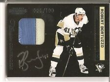Robert Bortuzzo 2011-12 Panini Contenders 2-color Patch Autograph RC 29/100