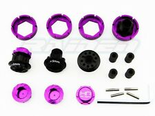 Hot Racing HR 17mm Savage Flux HP X XL Warlock Wheel Adapter +5mm Wide Hex Hub
