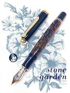 Pelikan  M800 Special Edition Stone Garden 18K Fountain Pen