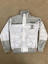 Adidas STAR WARS Hoth Blizzard Force Track shirt Top Sweat Jacket Men M Medium