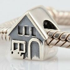 House Home Charm Bead 925 Sterling Silver