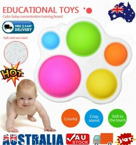 Baby Simple Dimple Sensory Toy Fat Brain Toy Skill Intelligence Development Toy~