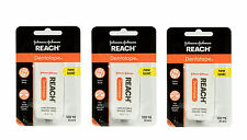 Reach Dentotape Waxed Floss, Unflavored - 100 yard (Pack of 3)