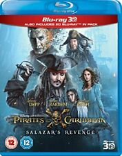 Pirates of the Caribbean: Salazars Revenge (3D) [Blu-ray] [2017] [Region Free]