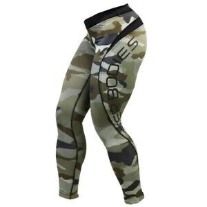 Better Bodies Camo long tights (110704) Damen Leggings Sporthose Fitness Hose