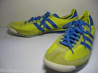 ADIDAS ORIGINALS SL 72 Retro Yellow Blue Training Track SL72 Shoes Size Mens 13