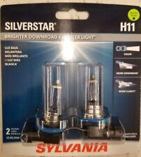 Sylvania Siverstar H11 Dual Pack Brand New & Sealed/ Sylvania Halogen Bulbs