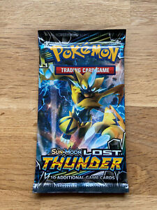 POKEMON LOST THUNDER BOOSTER PACK SEALED 1x