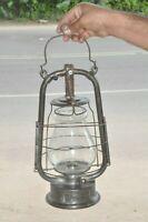 Vintage Empress Hurricane Iron Kerosene Lamp/ Lantern , Germany