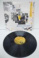 MIDNIGHT OIL 10 9 8 7 6 5 4 3 2 1982 CBS LABEL GATEFOLD RECORD ORIGINAL VINYL LP
