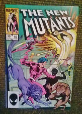 The New Mutants 16 (Marvel Comics,1984) 1st Appearance of Warpath