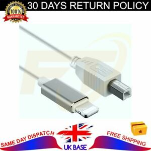 for iPhone/iPad USB2.0 Type-B to Midi Cable for Electronic Music Instrument etc.