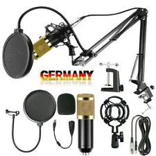 DHL BM-800 Kondensator microphone Mikrofon Kit Komplett Set für Studio Aufnahme