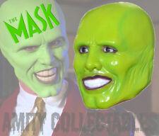 """""""la máscara"""" (Jim Carrey) Látex Máscara Halloween, Disfraz, Fiesta, Vestido de fantasía"""