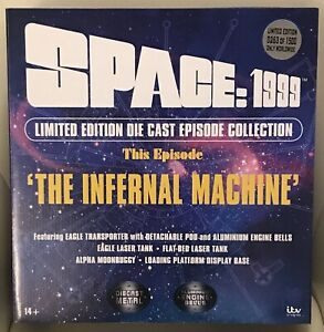 Sixteen 12 Space 1999 Infernal Machine Eagle Transporter Die Cast Limited Ed