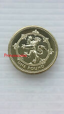 KEY DATE 1999*UNC*UK SCOTTISH LION RAMPANT £1 ONE POUND COIN-LOW MINTAGE