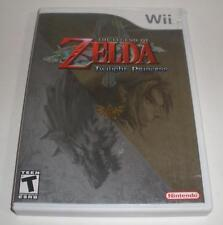 Nintendo Wii The Legend of Zelda Twilight Princess CIB