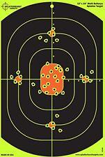 10 Pack 12x18 Bullseye Splatterburst Target Instantly See Your Shots Burst