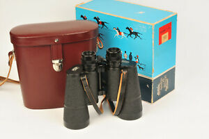 Carl Zeiss Jena DDR Jenoptem Multicoated 7x50W Binoculars with Case & Box