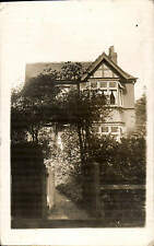 Cheadle Hulme, Stockport. 31 Swann Lane. Card written by J.W. Brown.