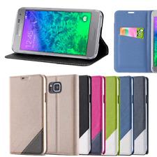 Schutz Hülle für Samsung Galaxy Alpha G850 Tasche Flip Case Cover Schutzhülle